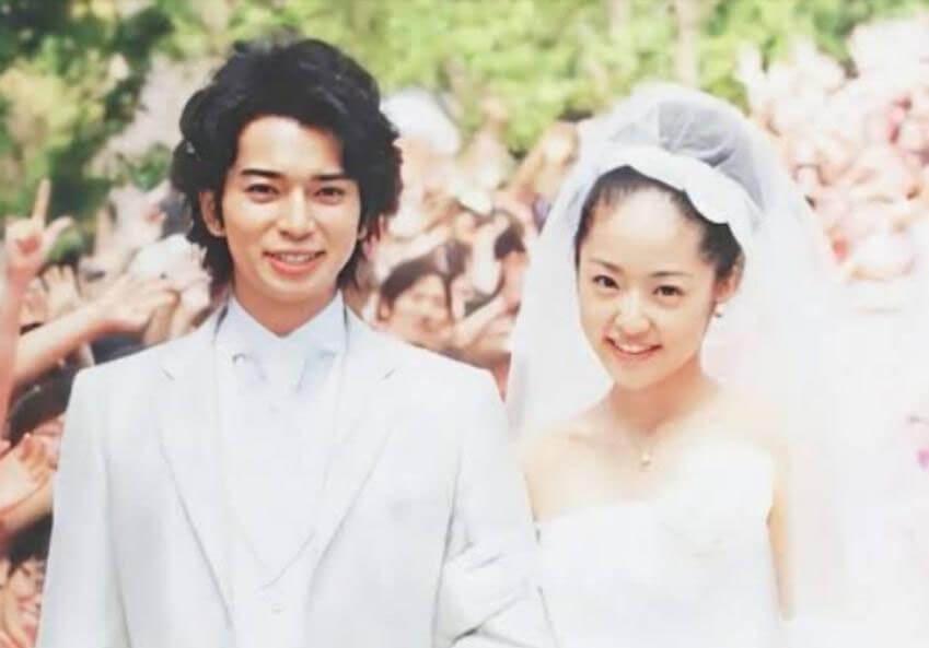 松本潤さんと井上真央さんの画像