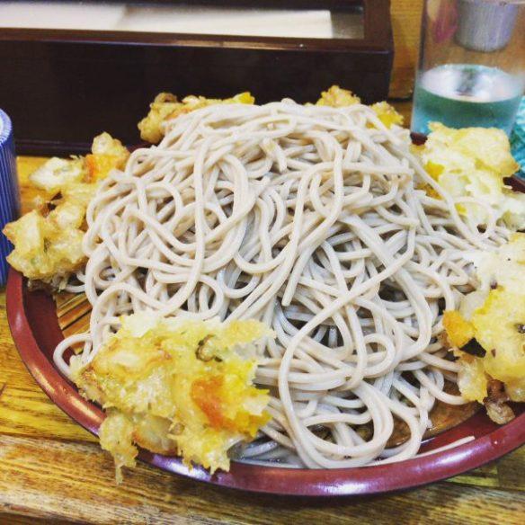 もりかき揚げ蕎麦 の写真