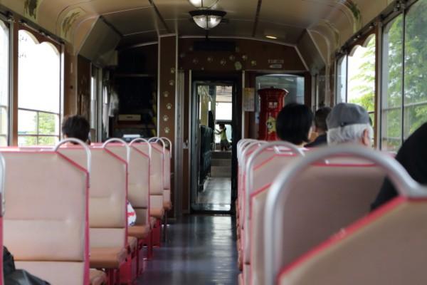 会津鉄道お座敷トロッコ展望列車