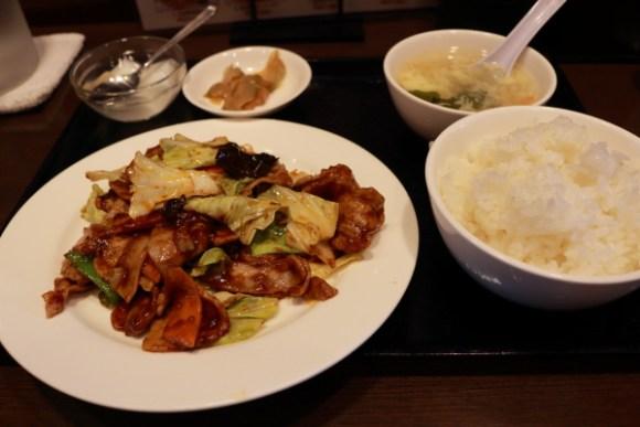 中華飯店天福楼回鍋肉