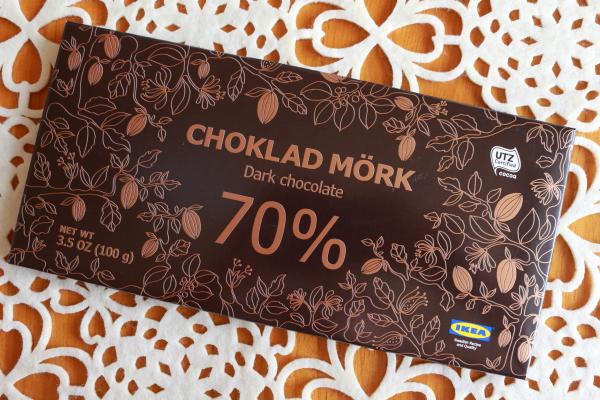 IKEAダークチョコレート70%