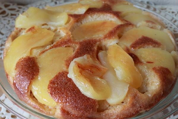 ホットケーキミックスでりんごケーキ