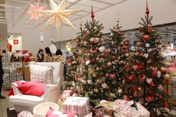 IKEAクリスマスツリー&オーナメント