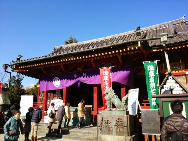 浅草神社本殿