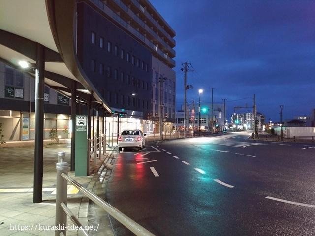 荒井駅タクシー乗り場