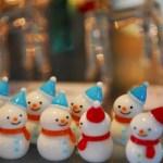 日本の雪だるまは外国の雪だるまと違う!