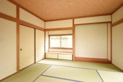 和室はシンプルでなじみの良いスタンダードな空間。