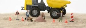 どうして幅員減少は工事現場に多く表示されているのか?