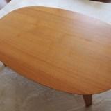 無印のこたつテーブルを購入!楕円がオシャレで可愛い♪
