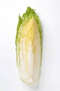 縦に切った白菜