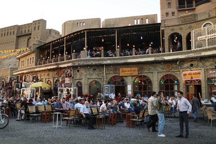 La o cafea în Erbil