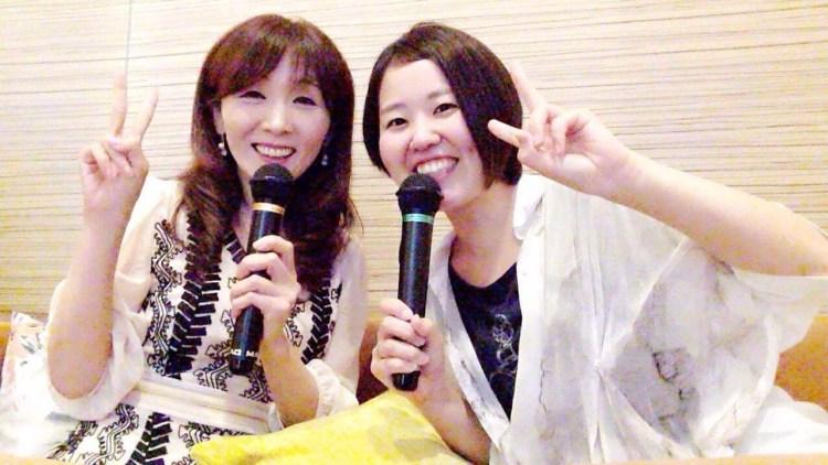 さとう誉子カウンセラーと長野美峰カウンセラー