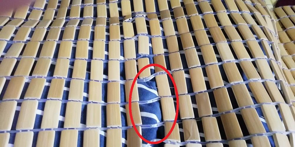 竹シーツ流石に限界