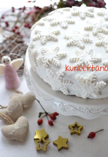 ricetta, ricette, christmas cake, torta, natale, uvetta, mandorle, frutta, essiccata, pasta di zucchero, regalo, Natale, dolce