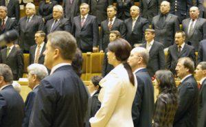 Po zwycięskich wyborach jesienią 2008 roku centroprawicowa koalicja zapowiadała zmniejszenie liczby biurokratów, tymczasem ich liczba na razie tylko się zwiększa Fot. Marian Paluszkiewicz
