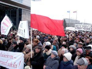 W ciągu minionych 15 lat AWPL wielokrotnie zwoływała wiece i pikiety w obronie interesów Polaków na Litwie  Fot. Marian Paluszkiewicz
