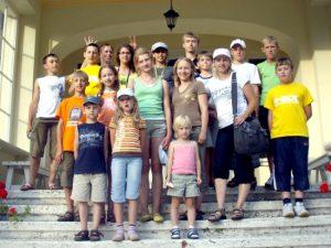 Zwiedziliśmy wiele ciekawych miejsc w Polsce Fot. archiwum ASRW