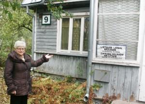 """""""Budynek wymaga obecnie wielkich nakładów pieniężnych"""" — powiedziała Helena Ališkevičienė"""