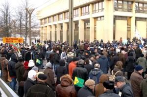Zdaniem niektórych ekspertów, Litwie grozi wybuch niezadowolenia społecznego, który będzie znacznie większy od styczniowych zamieszek w tym roku Fot. Marian Paluszkiewicz