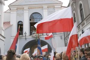 Raport MSZ RP szczegółowo przedstawia sytuację Polaków na Litwie Fot. Marian Paluszkiewicz