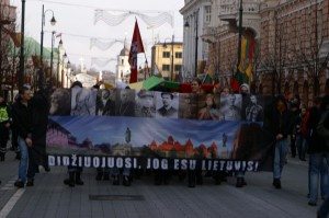 Nacjonalistyczne nastroje z litewskich ulic stopniowo przenikają pod dach Sejmu Republiki Litwy