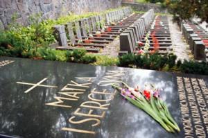 Nadal pozostaje pytanie, czy 18 września 1939 roku rzeczywiście trzej żołnierze stanęli przy mauzoleum z sercem Marszałka i warta honorowa poniosła śmierć? Fot. Marian Paluszkiewicz