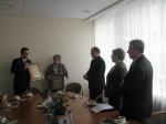 W siedzibie samorządu odbyło się spotkanie przedstawicieli Samorządu Rejonu Wileńskiego i Powiatu Szydłowieckiego.