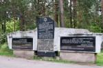 W lesie Ponarskim pod Wilnem niemieccy okupanci i ich litewscy kolaboranci zamordowali 70 tys. Żydów Fot. Marian Paluszkiewicz