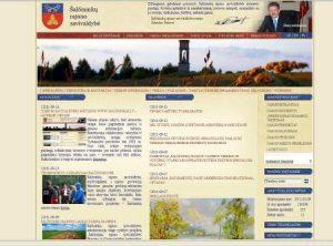 Strona samorządu rejonu solecznickiego