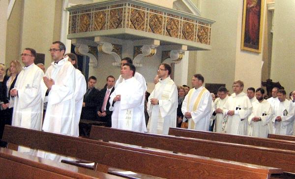 Kolejne święcenia kapłańskie  w Wileńskiej Katedrze