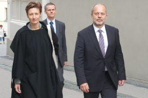 Prezes NIK Jacek Jezierski spotkał się z prezes Kontroli Państwowej Giedrė Švedienė     Fot. Marian Paluszkiewicz