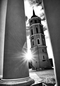 Cząstka Wilna widzianego przez naszego fotoreportera–artystę Fot. Marian Paluszkiewicz