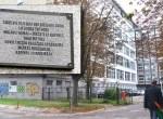 O takim ważnym miejscu dla narodu tatarskiego przypomina tylko tabliczka Fot. Marian Paluszkiewicz