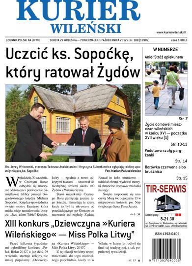"""Dom, w którym rezydowały Urszulanki, zwany """"Gwiazda Zaranna"""" Fot. Marian Paluszkiewicz"""