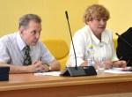 Mer Samorządu Rejonu Wileńskiego Maria Rekść wraz z zastępcami G. J. Mincewiczem (po lewej) oraz Cz. Olszewskim. Fot. ASRW