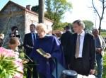 Prezydent RL Dalia Grybauskaitė oraz radny Samorządu Rejonu Wileńskiego Gintaras Karosas wzięli udział w ceremonii