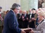 Prezydent RP wręczył odznaczenia państwowe zasłużonym uczestnikom walk o niepodległość Polski z terenów Wileńszczyzny i Nowogródczyzny Fot. Prezydent.pl