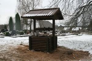 Na cmentarzu w Szyłanach wykopano studnię