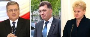 Podczas gdy prezydent Grybauskaitė odrzuca zaproszenie prezydenta Komorowskiego, to przyszły premier Butkevičius zapowiada, że pierwszą wizytę zagraniczną złoży w Polsce       Fot. Marian Paluszkiewicz
