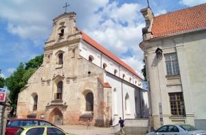 Kościół franciszkański  w Wilnie Fot. Marian Paluszkiewicz