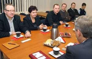 Spotkanie było swoistą odpowiedzią na nowe trendy powstające w gospodarce i szkolnictwie wyższym <br/>Fot. Marian Paluszkiewicz