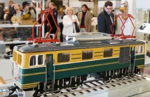 Wśród eksponatów Muzeum Kolejnictwa — miniaturowe lokomotywy<br/>Fot. Marian Paluszkiewicz
