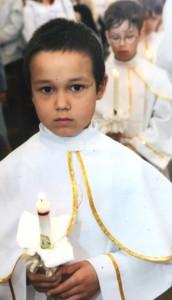 """""""W przyszłości chcę zostać księdzem"""" Fot. archiwum"""