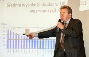 Janusz Wojciechowski zwrócił uwagę na stronę prawną problemów reformy WPR    Fot. Marian Paluszkiewicz