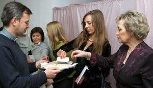 Łamanie się opłatkiem w niewielu krajach już pozostał Fot. Marian Paluszkiewicz