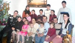 To niedaleka, ale już przeszłość, kiedy cała rodzina była w komplecie Fot. z albumu rodzinnego