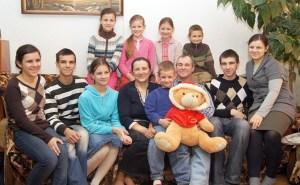W domu rodzinnym w Połukniu Fot. Marian Paluszkiewicz