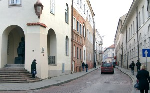 Zakonnice ze Zgromadzenia Córek Niepokalanego Poczęcia NMP miały swoje domy przy ulicy Uniwersyteckiej
