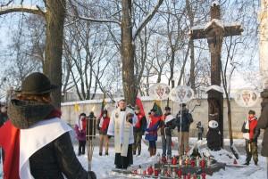 Uroczystość rozpoczęła się na placu Łukiskim apelem i Koronką do Miłosierdzia Bożego Fot. Marian Paluszkiewicz
