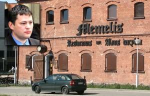 """Litewska Kłajpeda ma wyraźny charakter niemiecki, tamtejsza zaś rosyjska mniejszość — poprzez radnego Wiaczesława Titowa — chce też uwidocznić """"rosyjskość"""" miasta Fot. Marian Paluszkiewicz"""